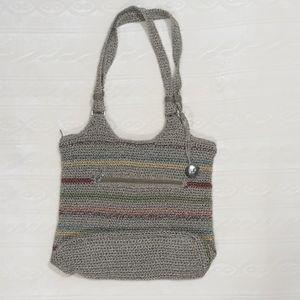 The Sak Crochet Shoulder Bag 14x12x4
